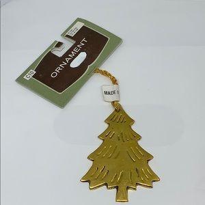 "🎄3"" gold 2003 Target Christmas tree ornament 🎄"